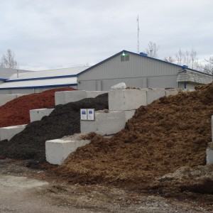 MULCH bunkers